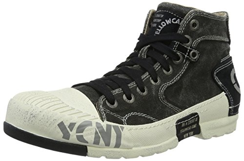 Yellow Cab Mud M, Sneakers basses homme Noir