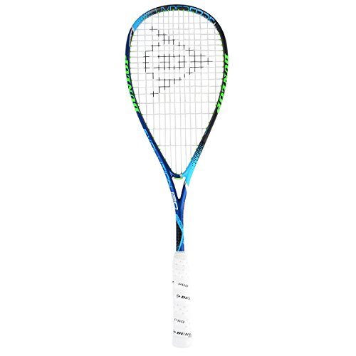 Dunlop 773252 Hyperfibre Plus Evolution Pro Nick Matthew Squashschläger Blau