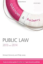 Questions & Answers Public Law 2013-2014: Law Revision and Study Guide (Law Questions & Answers)