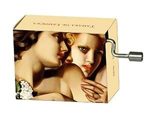 Fridolin - 58351 - Boîte à musique - Tamara de Lempicka - Deux dames - Vivaldi - Printemps