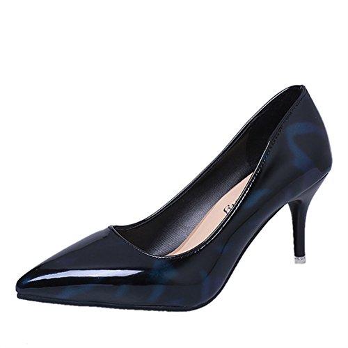 Printemps et automne fashion chaussures asakuchi Lady Joker/Talons pointus/Stiletto chaussures de mariage/escoge los zapatos C