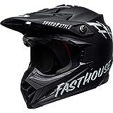 Bell Helm Moto-9 Mips schwarz/weiß Fasthouse, Größe M
