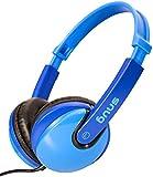 Snug Plug n Play Kids Headphones for Children (Blue)