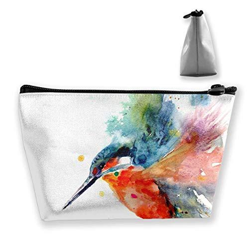 Ölgemälde Vogel Reise Make-up Tasche Travel Wash Taschen Junge Federmäppchen (Vögel ölgemälde)