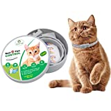 HOMIMP Cat Flea Collar 8 Months Protection - Flea Tick Treatment for Cats Kittens Puppies 33cm