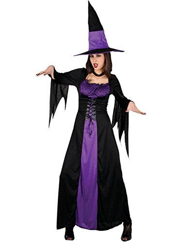 Erwachsene Spellbound Damen Kostüm Halloween Horror (Hexe Spellbound Kostüme)