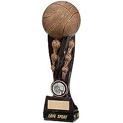 Trofeo Baloncesto H 16,00cm premio Baloncesto Etiqueta Personalizada compresa en el precio