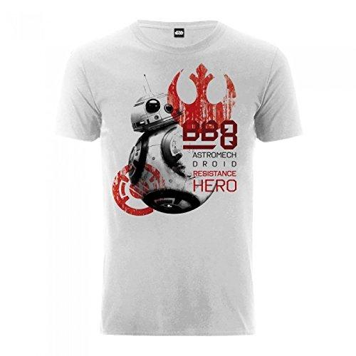 a12c5a07f9e Star Wars The Last Jedi - T-Shirt avec imprimé  BB-8 Droid