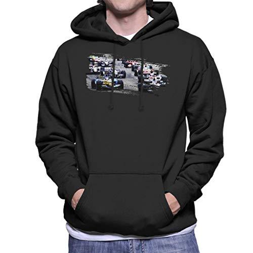 Motorsport Images San Marino GP 2005 Starting Shot Men's Hooded Sweatshirt -
