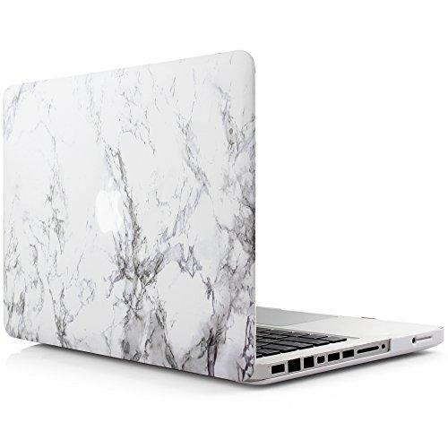 iDOO MacBook Schutzhülle / Hard Case Cover Laptop Hülle [Für MacBook Pro 13 Zoll – mit CD-Laufwerk: A1278] - matt, weißer - Mac A1278 Book Pro Cover
