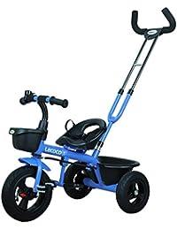 Carrito de bebé Niños triciclo multifuncional Bicicleta plegable de 1 a 5 años de edad 3