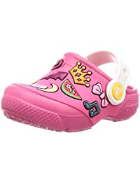 crocs FL Playful Patches Pink Boys Clog