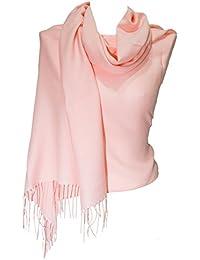 da40e8058316 Amazon.it  foulard donna - Rosa   Pashmina   Sciarpe e stole  Abbigliamento