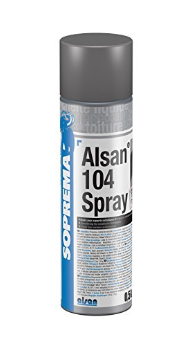ALSAN 104 Spray 1 Dose (0,5 kg) Metallgrundierung - für alle metallischen Untergründe wie z.B. Stahl, Alu, Zink, Kupfer | zur Vorbereitung für ALSAN PMMA- PU- und Abdichtungsharze