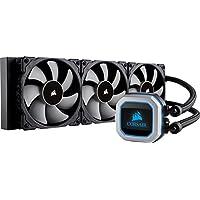 Corsair Hydro - Series Refrigerador líquido de CPU H150i Pro RGB, Radiador de 360mm, Tres Ventiladores PWM de 120 mm Serie ML, Iluminación RGB Avanzada, Compatible con Intel 115x / 2066 y AMD AM4