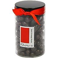 Rita Farhi Dark Chocolate Covered Orange Peels in a Gift Jar, 335g