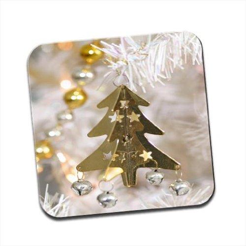 Albero di Natale dorato decorazione Bells & Stars singolo sottobicchiere