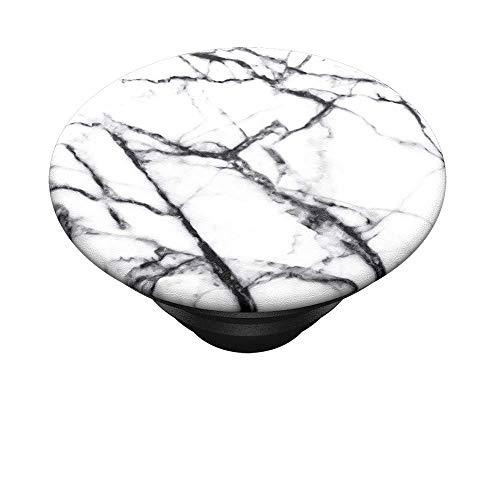 """PopSockets """"Nur das PopTop"""" für Deinen Austauschbaren PopGrip - Dove White Marble"""