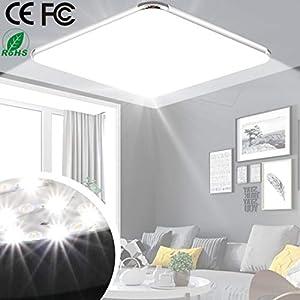 LED Deckenleuchte Ultraslim Modern Deckenlampe 12W 6500K Kaltes Weiß geeignet für bad küche wohnzimmer flur [Energieklasse A+]