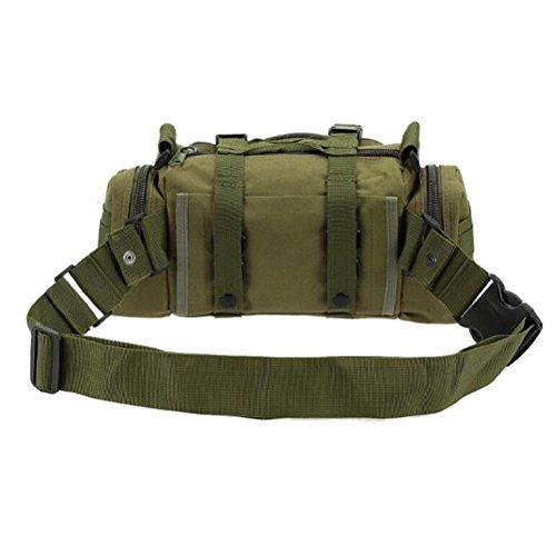 Rucksack 600D 55L Militär Multifunktionskombination Shopping Bewegung Limit Challenge Outdoor Rucksack ArmyGreen