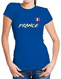 347affb69 Lolapix Camiseta seleccion de fútbol Personalizada con Nombre y número.  Camiseta de algodón para Mujer