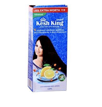 Kesh king Ayurvedic Shampooing anti-pelliculaire et anti-cheveux Chute 120 ml