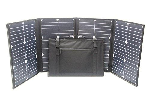 Model No. poweroak S80Open Size: 114* 30cm Folding Size: Bag 43* 30cm Material: Poliéster 900d Net weight: 1.8KGS solar Cell: poweroak monocrystalline solar Cell, 22% efficiency de transferencia máx Power (PM): 80W Voltage at Max Power (Vmp): ...