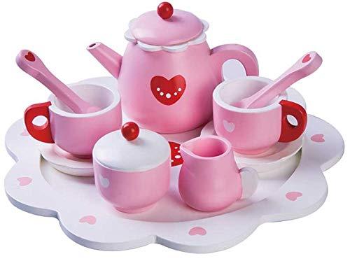 (Hölzernes Herz-Tee-Set !! Perfekt, um Das Selbstvertrauen, die Vorstellungskraft und die Hand-Auge-Koordination Ihres Kindes zu unterstützen)