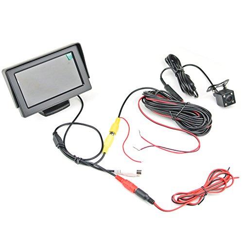 Ccd-kamera-system (10,9cm TFT LCD Auto Rear View Monitor mit CCD-Backup Night Vision Kamera System Kit)