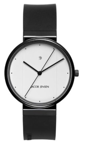 Jacob Jensen 752 – Reloj analógico de Cuarzo para Hombre con Correa