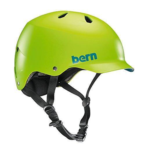 Bern Herren Helm Watts EPS Thin Shell, matt neongrün, L/XL, VM5EMNGLXL