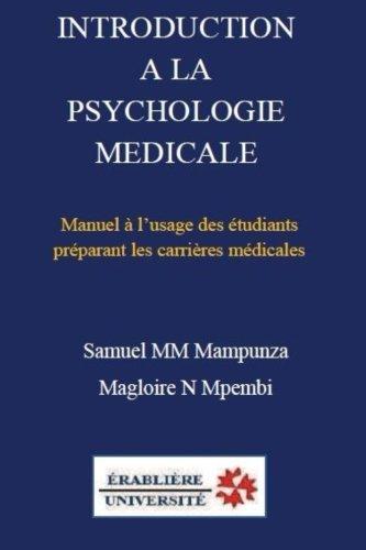 Introduction a la psychologie medicale