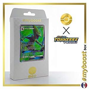 Jungko-GX (Sceptile-GX) 196/214 Full Art - #myboost X Soleil & Lune 8 Tonnerre Perdu - Box de 10 Cartas Pokémon Francés