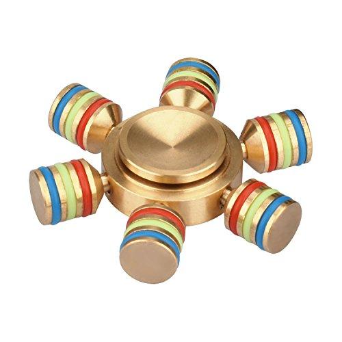 Negro Fidget Spinner reductor de estrés juguete para añadir ADHD ansiedad y...