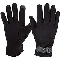 3033bb708cd8ce Vidillo Winter Handschuhe, Hirschleder Winter Handschuhe für Männer Frauen,  warme Wasserdichte Winddichte Touchscreen-