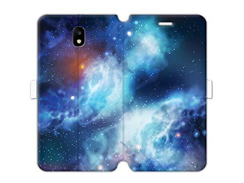 etuo Samsung Galaxy J5 (2017) - Hülle Wallet Book Fantastic - Kosmos - Handyhülle Schutzhülle Etui Case Cover Tasche für Handy
