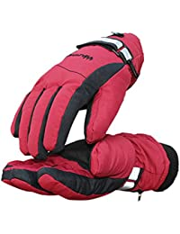 Hand Back Heating Heated Gloves,4 Hours Rechargeable Electric Gloves Heating Waterproof&Windproof Warm Gloves