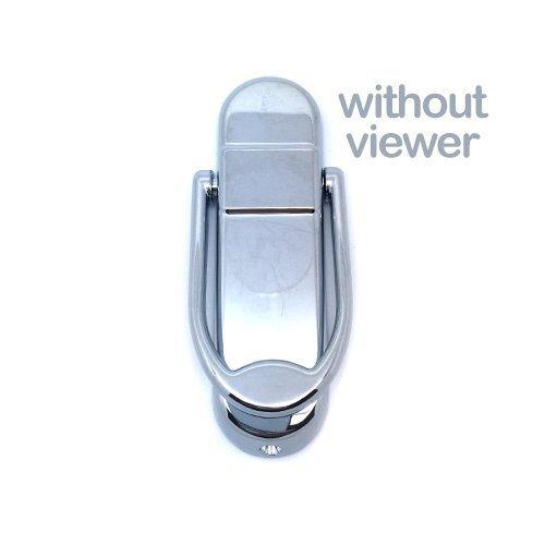 Avocet, Türklopfer, modernes Design, Affinity-Reihe, für alle Türarten, chrome, Without Viewer