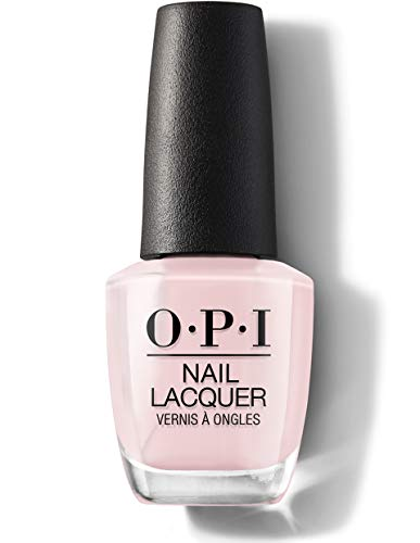 OPI Nail Lacquer Nagellack, Always bare for you Sheer Collection, 15 ml, NLSH1 - Baby, Take a Vow - Pink-nail-strengthener
