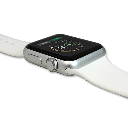 Skinomi, SK18680 TechSkin, Schutzfolie für Apple Watch und Apple Watch Series 3, wasserdicht, (42 mm) 6er Pack - 4