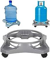 Tekerlekli Tüp Ve Damacana Altlığı 19 Lt Plastik Cam Su Damacanası Bidon Çiçek Saksı Taşıma Altlık