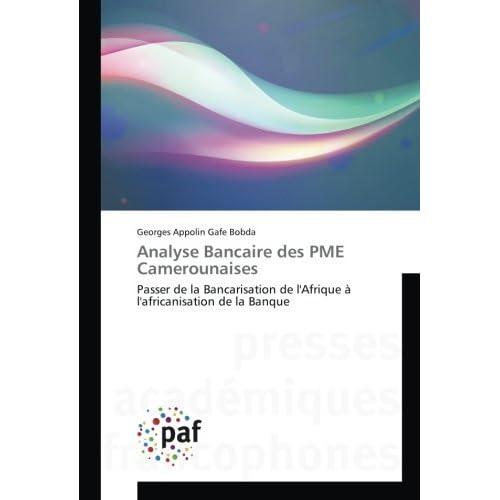 Analyse Bancaire des PME Camerounaises: Passer de la Bancarisation de l'Afrique A l'africanisation de la Banque