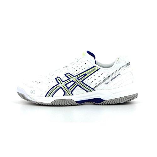 Asics Gel-dedicate 3 Clay, Chaussures de Tennis femme White