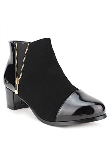 Cendriyon, Bottine Noire DIOLA Mode Chaussures Femme Noir