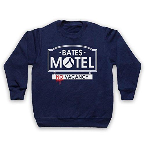 inspire-par-psycho-bates-motel-officieux-sweat-shirt-des-enfants-bleu-fonce-5-6-years