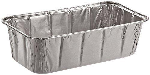 SafePro Foil Loaf Pan, 2 lb. (Case of 100), Baking Foil Pans Disposable by SafePro -