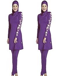 961b016b232 ziyimaoyi Muslim Swimwear Women Modest Swimsuit Beachwear Islamic Swimming  Clothes for Girls Hijab Burkini