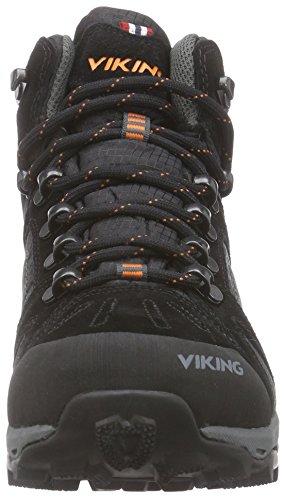 Viking - Eldr Gtx, Scarpe da escursionismo Unisex – Adulto Nero (Schwarz (Black/Charcoal 277))