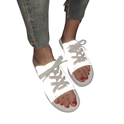 BURFLY Unisex Chamäleon leichte Sandalen und Hausschuhe für den flachen Außenbereich mit rutschfesten Sandalen