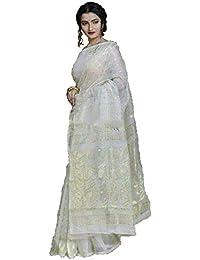 Chhanda Handloom Designer Pure Soft Dhakai Jamdani with GL Zari
